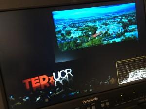 TEDx Talk, UC Riverside, Four camera shoot