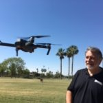 Bruce with drone