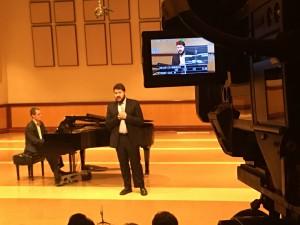 Vocal performance, Chapman College, Orange, CA
