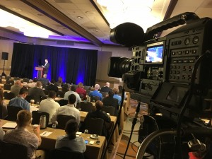 Company Annual Conference, 2 camera shoot with powerpoint, live switching, Newport Beach, CA aeroexchange.com